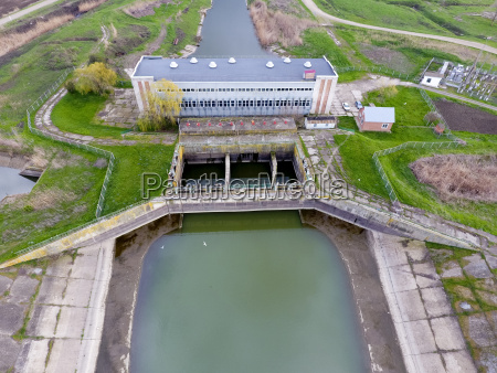 water pumping station of irrigation system