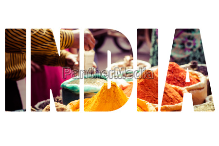traditional spices and dry fruits in