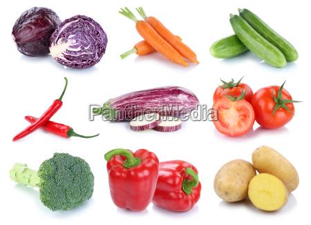 vegetable potatoes carrots fresh tomato paprika