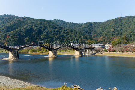 kintai bridge in japan