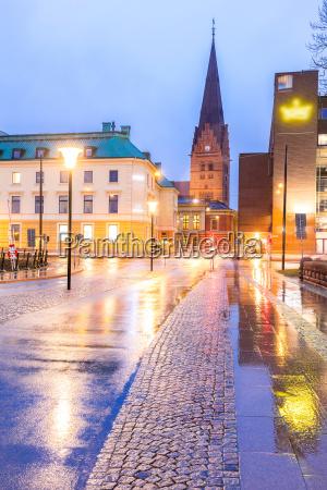 malmo cityscape sweden