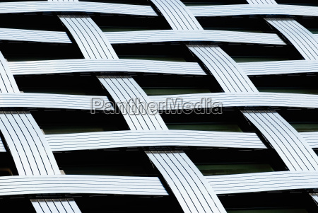 abstract lines fragment of a modern