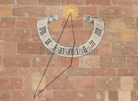 sundial in nuremberg
