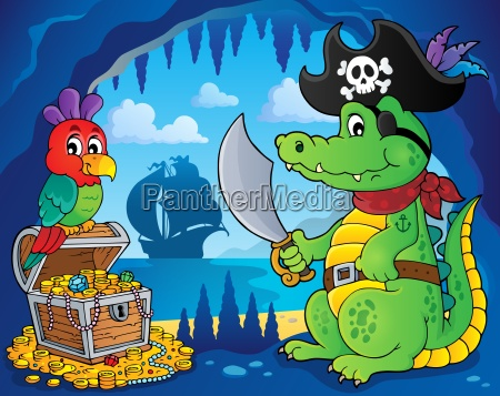 pirate crocodile theme 3