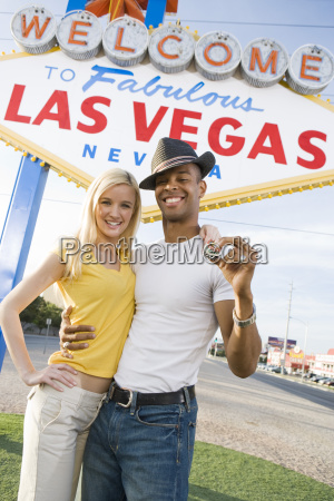 couple with casino chips