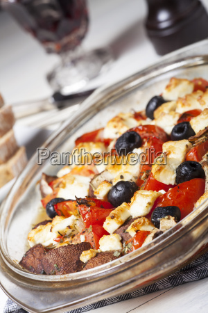 food aliment greek cheese grilled pale
