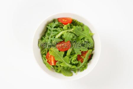arugula and tomato salad