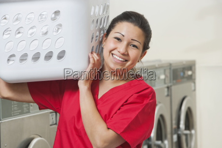 portrait of a happy female employee