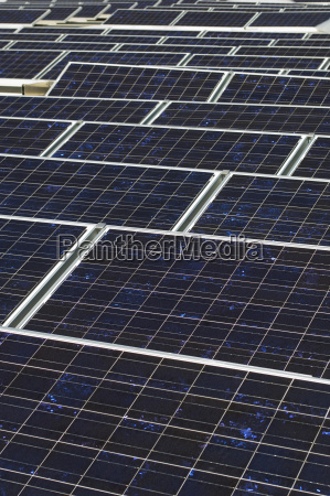 array of photovoltaic panels