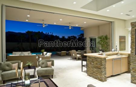 modern and spacious house interior