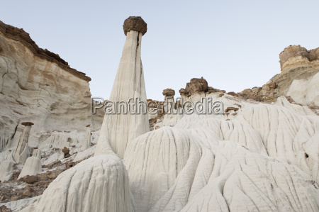 hoodoo and paria rimrocks in the