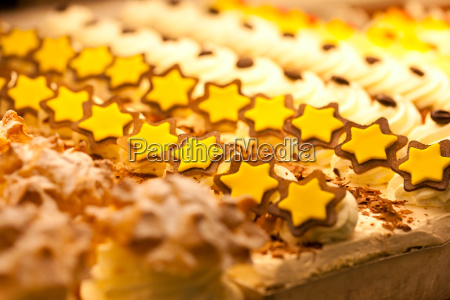 cookies in the display of a