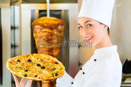 kebab hot and fresh turkish