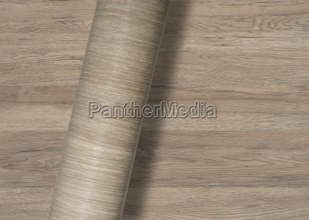 rolled wooden textured surface