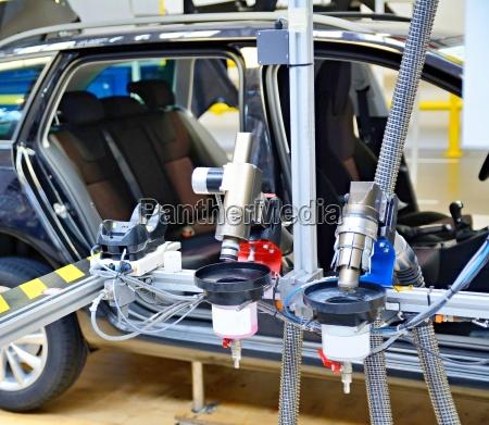 machine at car factory
