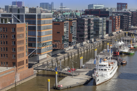 hafencity in hamburg germany