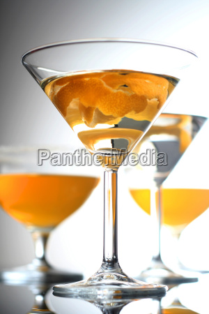 close up of drink in martini