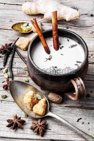masala tea in cup