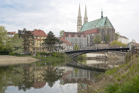 the peterskirche in goerlitz east germany