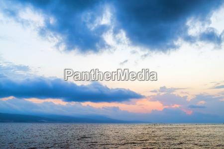 beautiful morning seascape