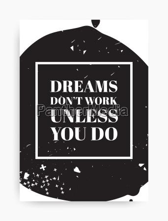 quote poster design