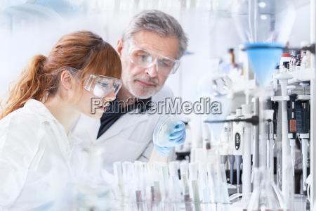 health care researchers working in scientific
