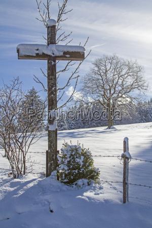 isarwinkel in winter