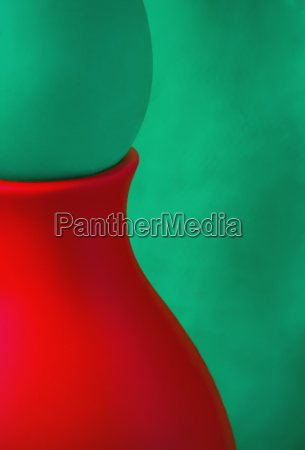 creative abstract green and red background