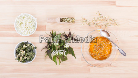 tea from flowers of the