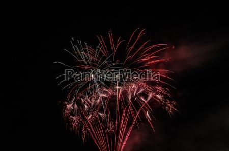 fireworks at feier