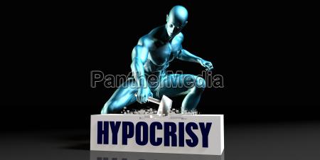 get rid of hypocrisy