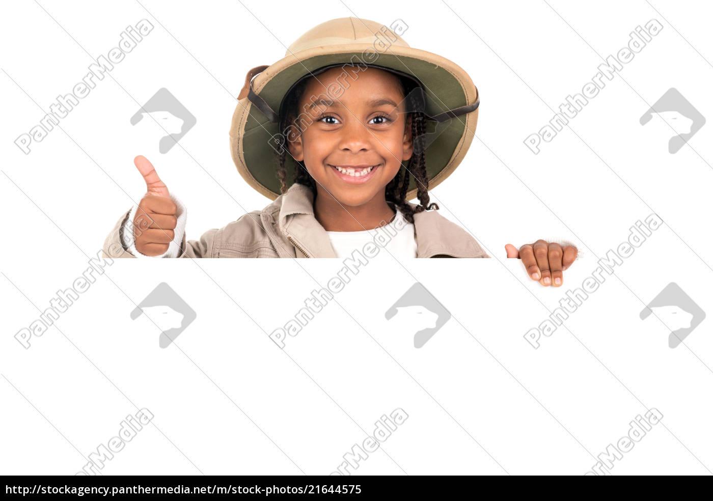 5ae2b68ccaa02 Girl in safari costume - Stock Photo -  21644575 - PantherMedia ...