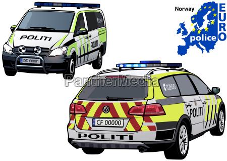 norway police car