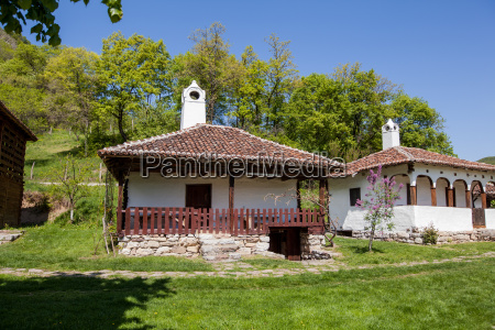 traditional house in serbia