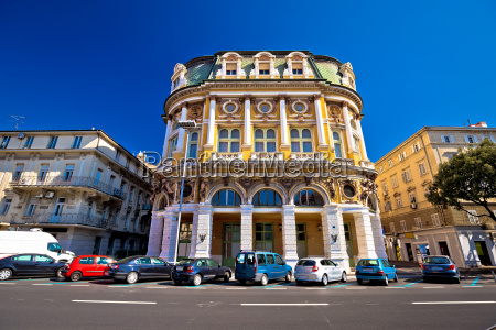 city of rijeka historic architecture