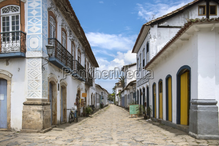 the charming town of paraty at