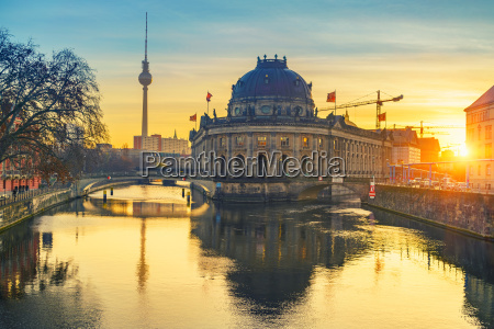 berlin at sunrise