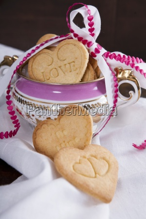 shortbread biscuits for valentines day