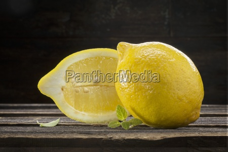 lemons and verbena