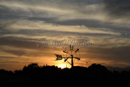 wind turbine on mallorca
