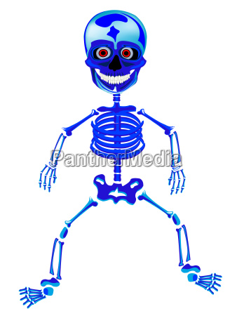 merry skeleton of the person