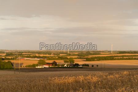 typical danish landscape
