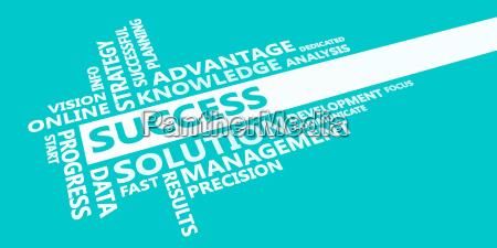 success presentation background