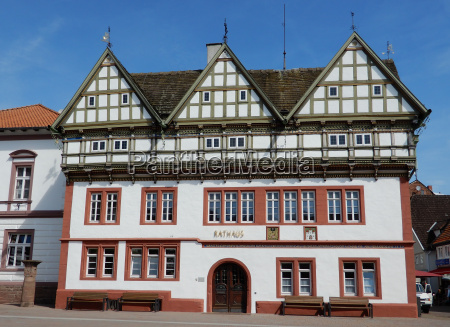 town hall in blomberg