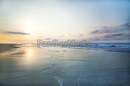 view of beach sunrise