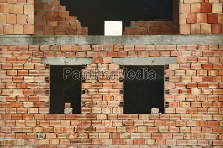 brick house construction