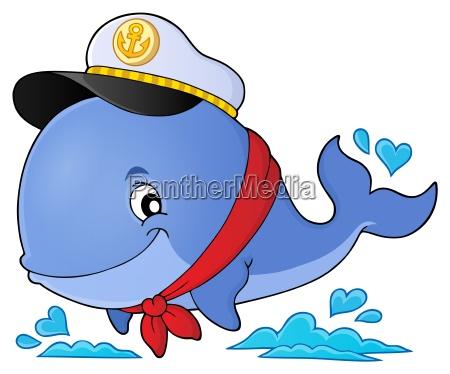 sailor whale theme image 1