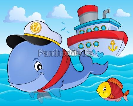 sailor whale theme image 2