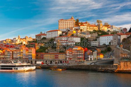 douro river and dom luis bridge