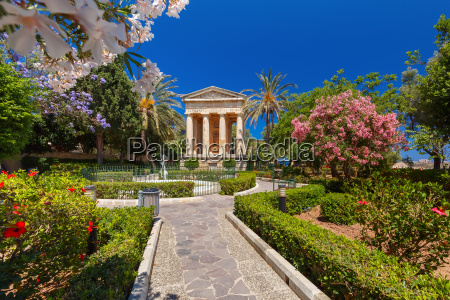 lower barrakka gardens valletta capital of